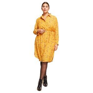 Ralph Lauren Plus Size Floral-Print Shirt Dress